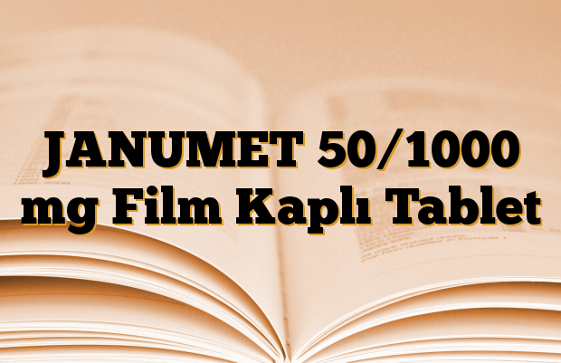 JANUMET 50/1000 mg Film Kaplı Tablet