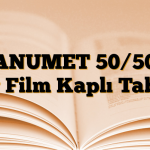 JANUMET 50/500 mg Film Kaplı Tablet