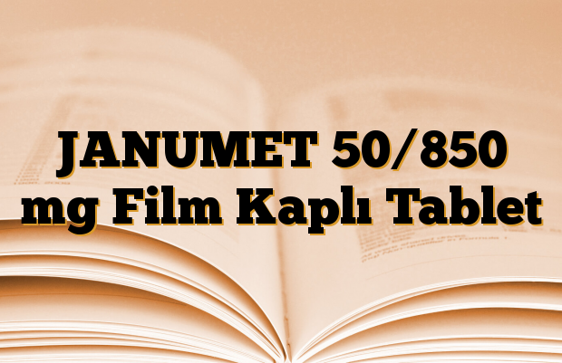 JANUMET 50/850 mg Film Kaplı Tablet