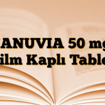 JANUVIA 50 mg Film Kaplı Tablet