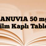 JANUVIA 50 mg Film Kaplı Tablet