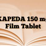 KAPEDA 150 mg Film Tablet