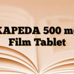 KAPEDA 500 mg Film Tablet