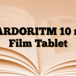 KARDORITM 10 mg Film Tablet