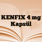 KENFIX 4 mg Kapsül