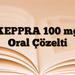 KEPPRA 100 mg Oral Çözelti
