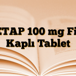 KETAP 100 mg Film Kaplı Tablet