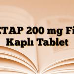 KETAP 200 mg Film Kaplı Tablet