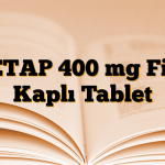 KETAP 400 mg Film Kaplı Tablet