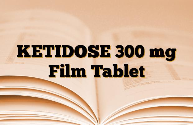 KETIDOSE 300 mg Film Tablet