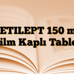 KETILEPT 150 mg Film Kaplı Tablet