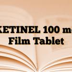 KETINEL 100 mg Film Tablet