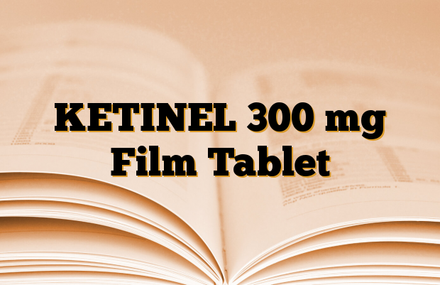 KETINEL 300 mg Film Tablet