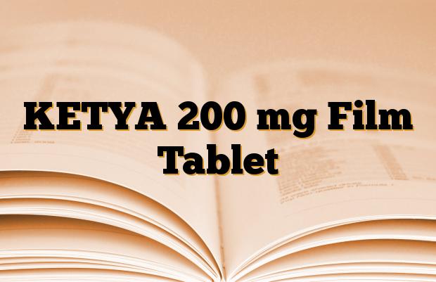 KETYA 200 mg Film Tablet