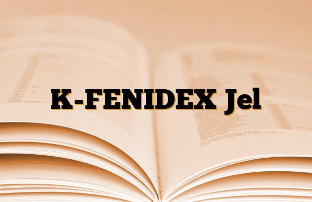 K-FENIDEX Jel