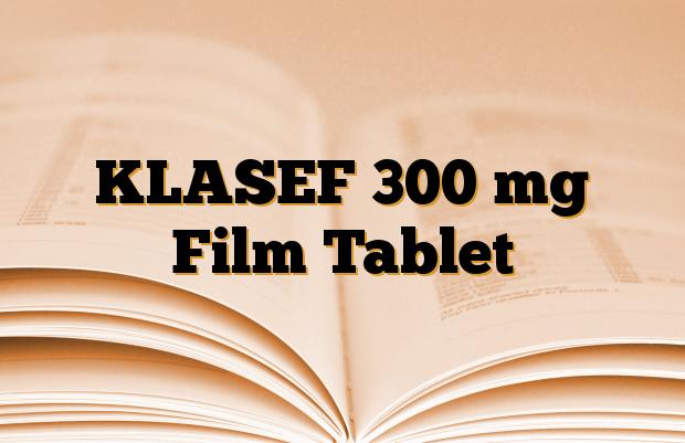 KLASEF 300 mg Film Tablet