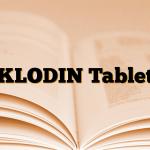 KLODIN Tablet