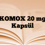 KOMOX 20 mg Kapsül