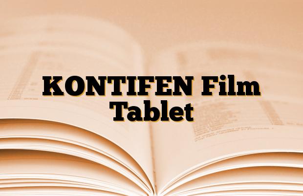 KONTIFEN Film Tablet