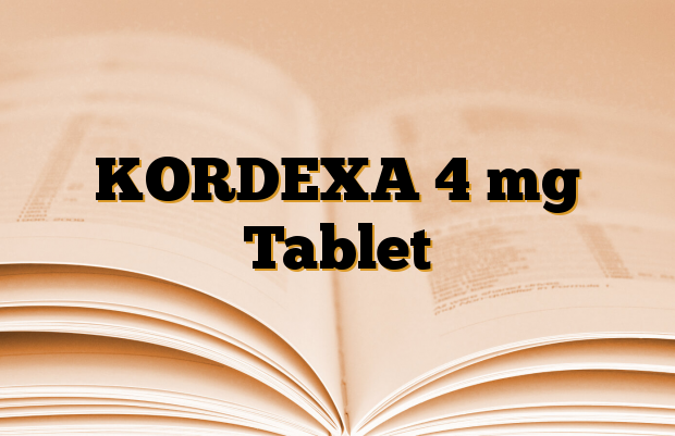 KORDEXA 4 mg Tablet