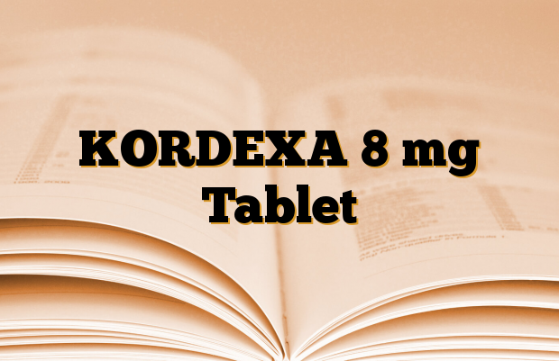 KORDEXA 8 mg Tablet