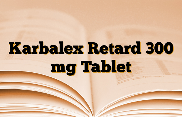 Karbalex Retard 300 mg Tablet