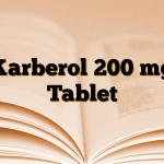 Karberol 200 mg Tablet