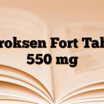 Karoksen Fort Tablet 550 mg