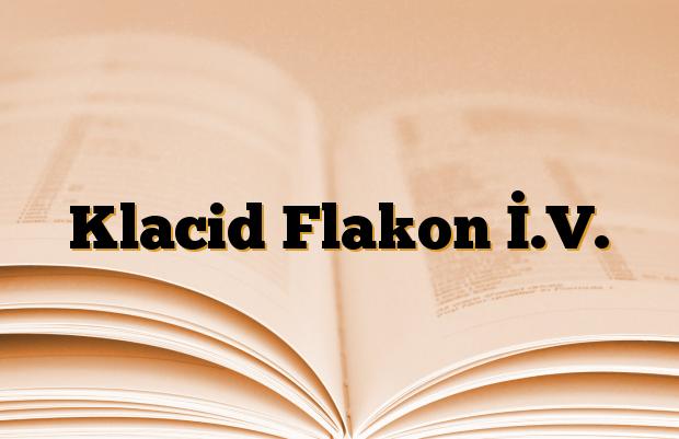 Klacid Flakon İ.V.