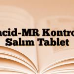 Klacid-MR Kontrollü Salım Tablet