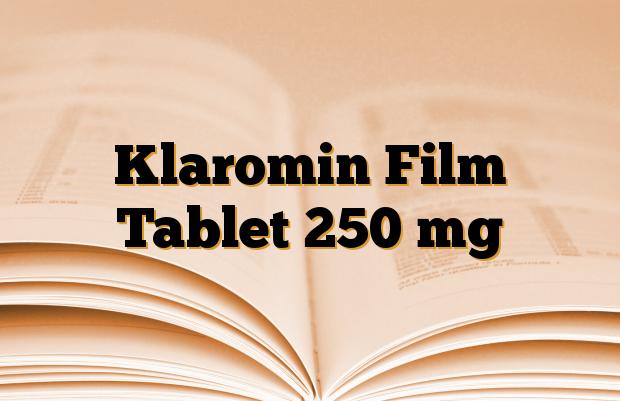 Klaromin Film Tablet 250 mg