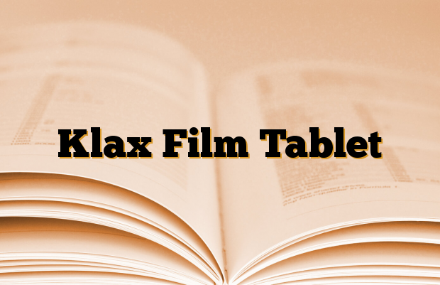 Klax Film Tablet