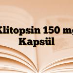 Klitopsin 150 mg Kapsül