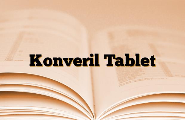 Konveril Tablet