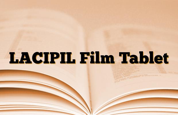 LACIPIL Film Tablet