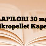 LAPILORI 30 mg Mikropellet Kapsül