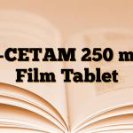 L-CETAM 250 mg Film Tablet