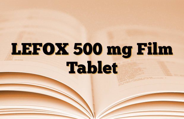 LEFOX 500 mg Film Tablet