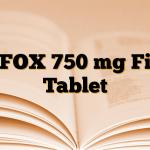 LEFOX 750 mg Film Tablet