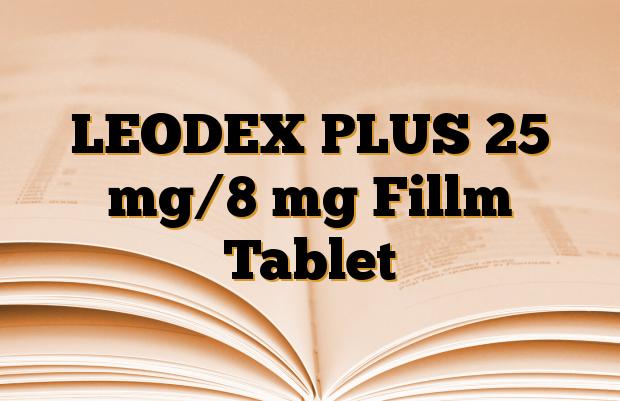 LEODEX PLUS 25 mg/8 mg Fillm Tablet