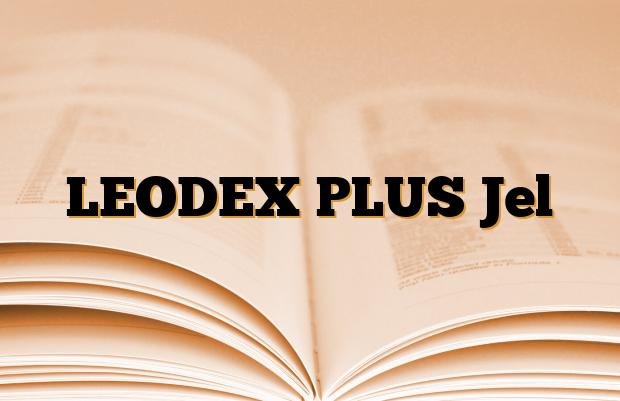 LEODEX PLUS Jel