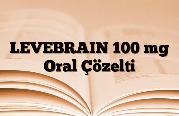 LEVEBRAIN 100 mg Oral Çözelti