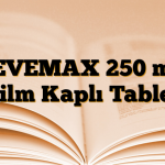 LEVEMAX 250 mg Film Kaplı Tablet