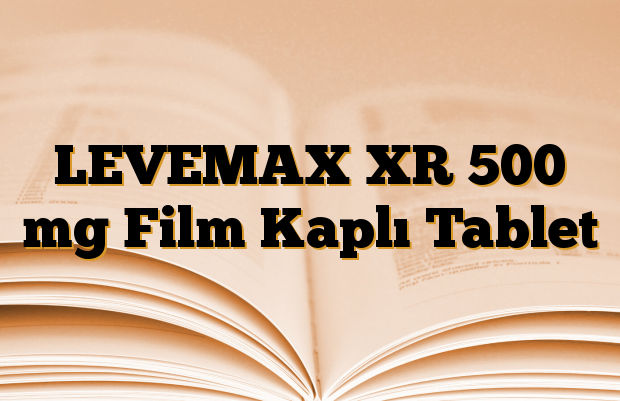 LEVEMAX XR 500 mg Film Kaplı Tablet