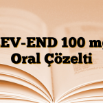 LEV-END 100 mg Oral Çözelti