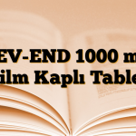 LEV-END 1000 mg Film Kaplı Tablet