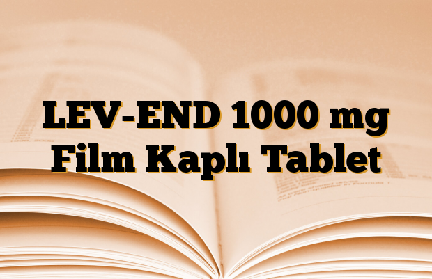 LEV-END 1000 mg Film Kaplı Tablet
