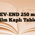 LEV-END 250 mg Film Kaplı Tablet