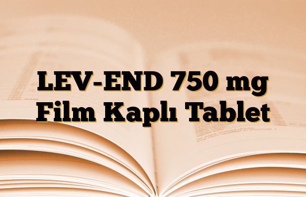 LEV-END 750 mg Film Kaplı Tablet