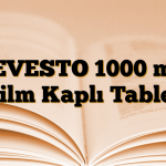 LEVESTO 1000 mg Film Kaplı Tablet